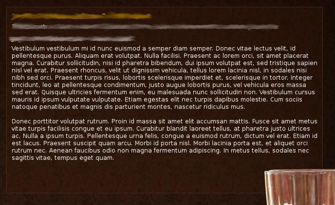 Forgotten Dolorem Ipsum