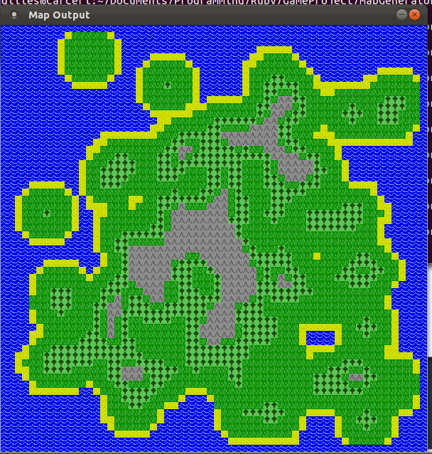 World Created Using A Heightmap