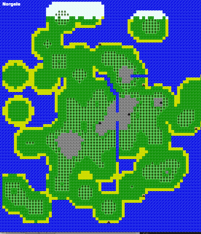 Randomly generating a 2d RPG world