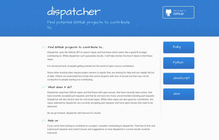 a before shot of dispatcher